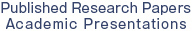 Publish Research Papers Academic Presentations